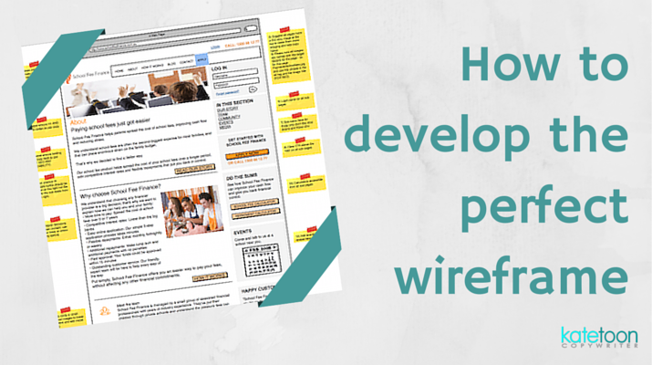 How to develop the perfect wireframe