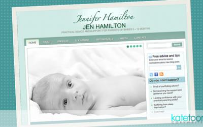 Case study: SEO-friendly website for Jennifer Hamilton