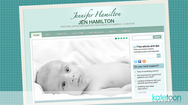 Case study: SEO-friendly website for Jennifer Hamilton
