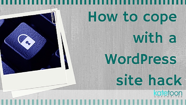 How to cope with a WordPress hack