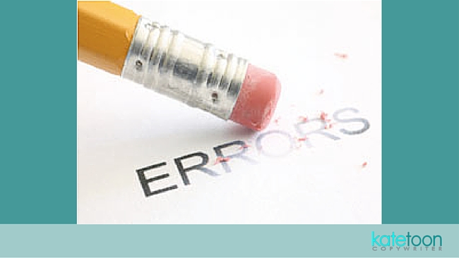 Guest post: Why use a proofreader or an editor?