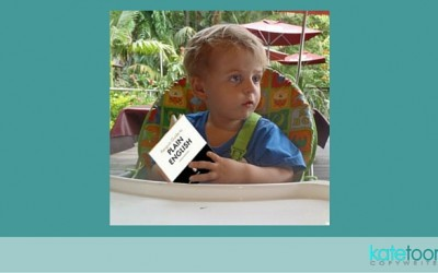 What toddlers can teach us about copywriting