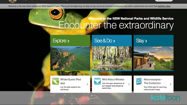 NSW National Parks – SEO copywriting