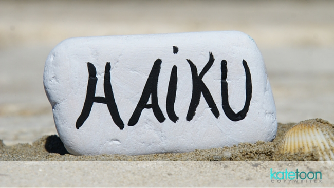 How to write the perfect haiku