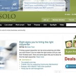 Flying Solo Guest Blogging