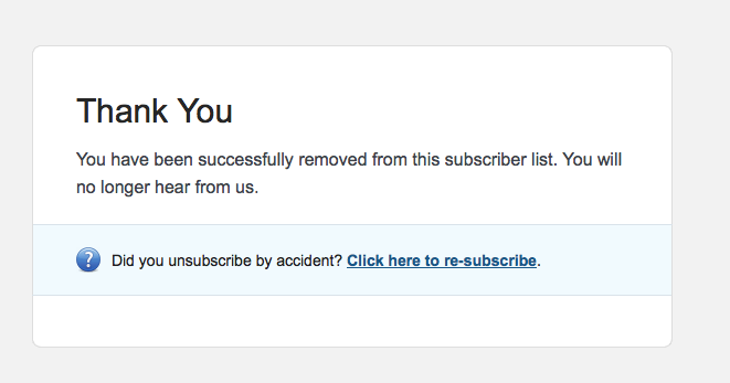 how to unsubscribe easy