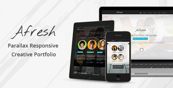 Afresh-Parallax-Responsive-Creative-Portfolio