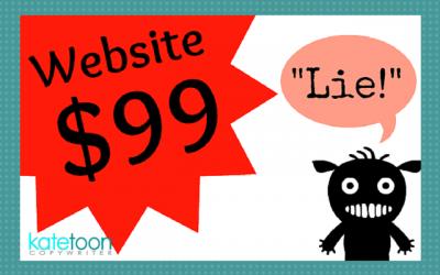 The great $99 website lie