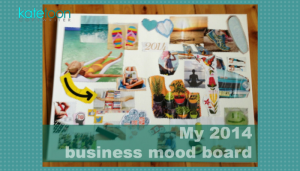 Business mood board