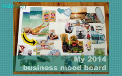 My 2014 business mood board