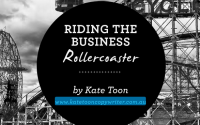 Riding the business rollercoaster