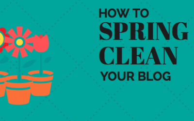 How to spring-clean your blog