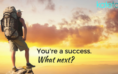 You're a success. What next?