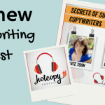My new copywriting podcast