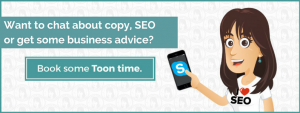 Copy, business, SEO advice image