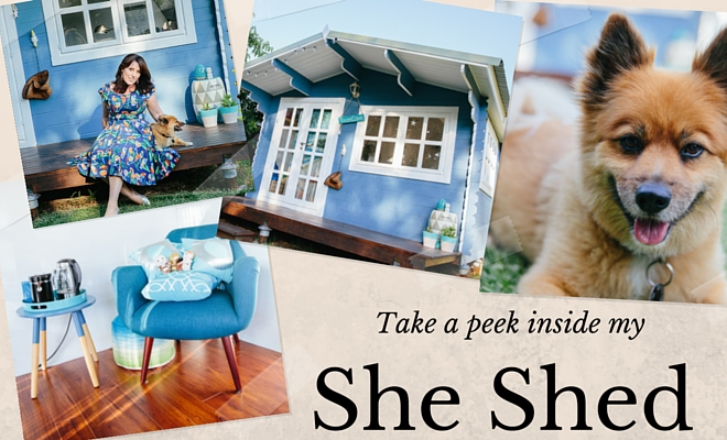 Take a peek inside my She Shed