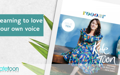 Learning to love your own voice
