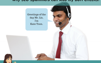SEO Spammers can kiss my BUM CHEEKS!