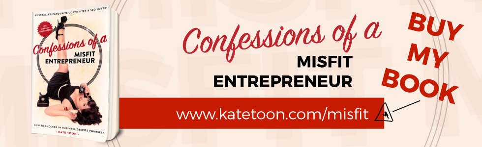 Confessions of a misfit entrepreneur with Kate Toon