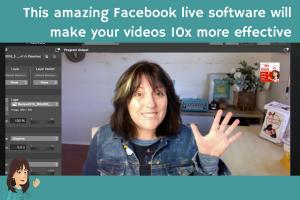Facebook live software