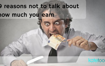 9 reasons not to talk about how much you earn