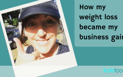 How my weight loss became my business gain