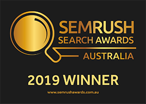 SEMRush 2019 Winner Badge