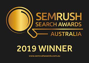 SEMRush 2019 Winner Badge